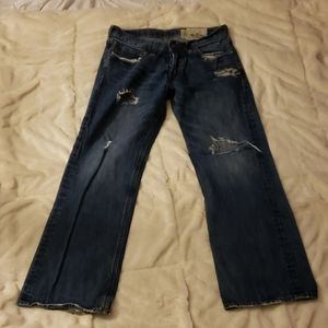 Hollister men's ripped jeans